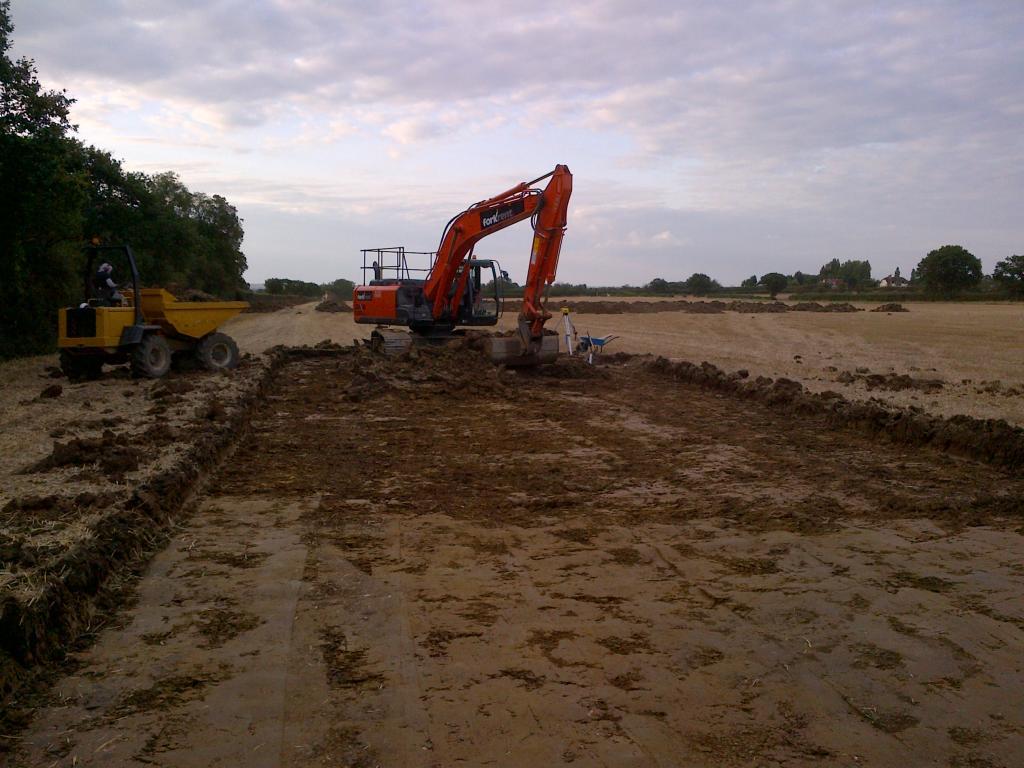Civil Engineering Amp Groundworks Trell Contractors